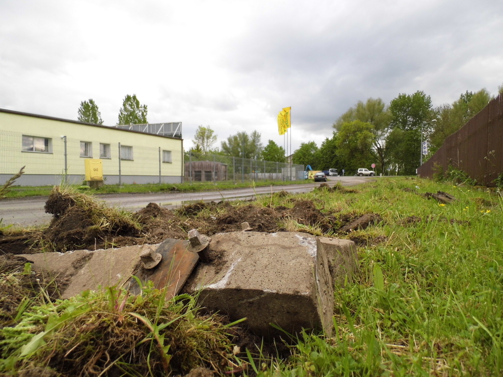 Odcinek Nowy Dwór Gdański - Kmiecin (maj 2014)