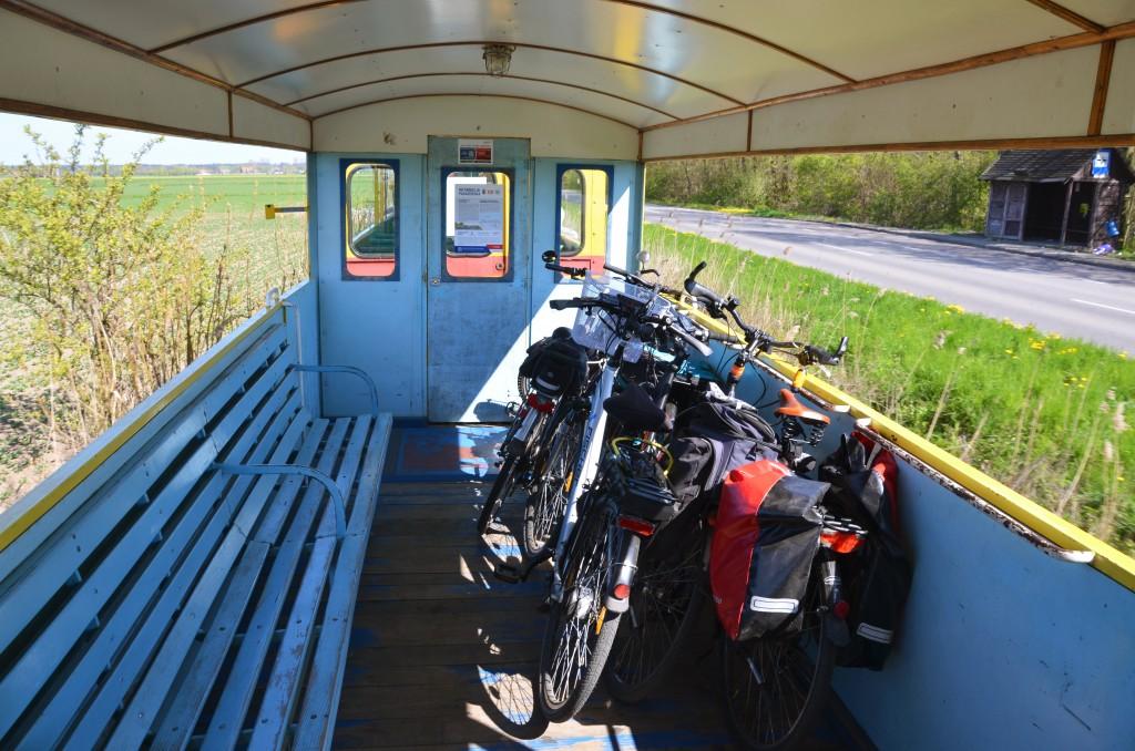 Przewóz większej ilości rowerów w naszym pociągu nie jest żadnym problemem!